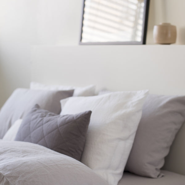 CLASSIC PILLOWCASES, CONCRETE GRAY