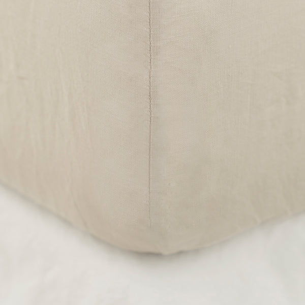 FITTED SHEET, STONE