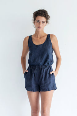 SHORT PANTS, MIDNIGHT BLUE
