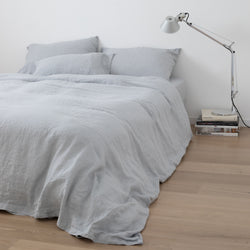 DUVET COVER, LIGHT GRAY