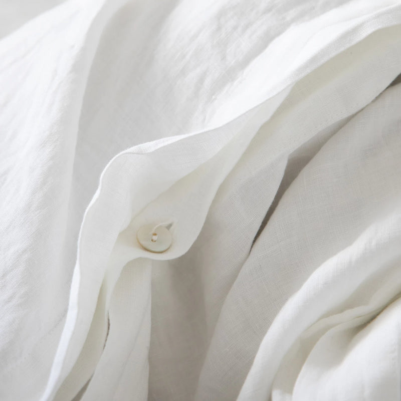 DUVET COVER, WHITE