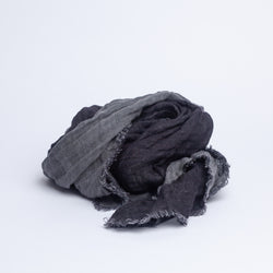 SHAWLS, BLACK/ GRAPHITE -SALE