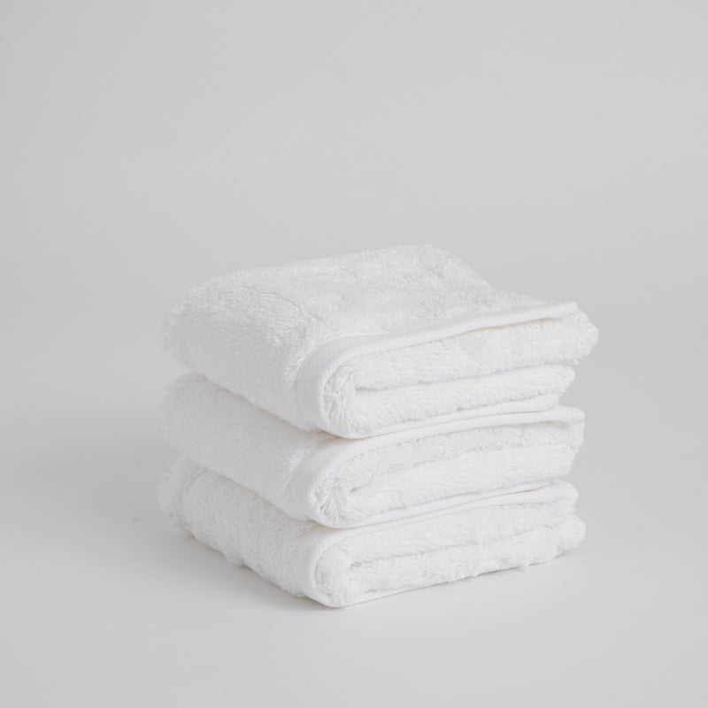 ORGANIC COTTON TOWEL, WHITE