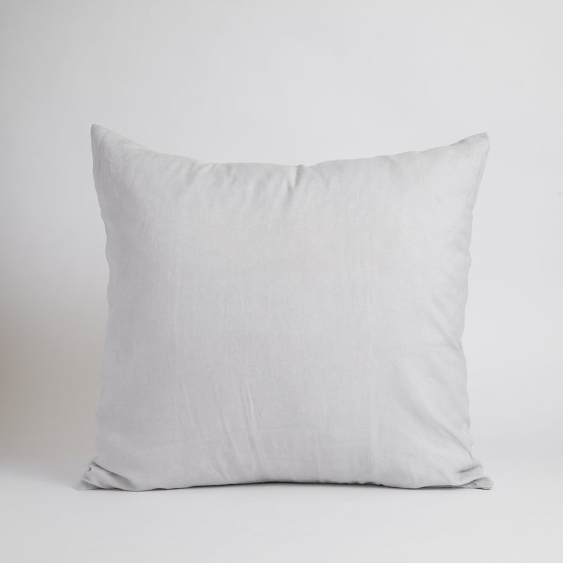 LARGE CLASSIC DECORATIVE PILLOW, FRANCH GRAY