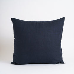 LARGE CLASSIC DECORATIVE PILLOW, NAVY
