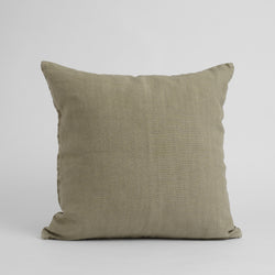 HEAVYWEIGHT LINEN DECO PILLOWS, KHAKI