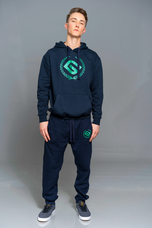 "G.K. ""MOCKY"" BLUE&GREEN TRACK SUIT"