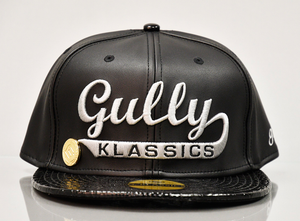 Limited Collection of Gully Klassic Dark Venom Faux Leather Men Cap is a Luxry Cap for men which is classic men headwear and fashionable cap