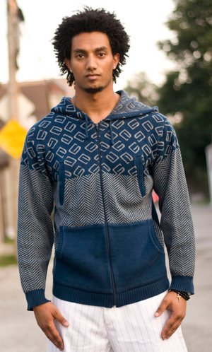 G.K. KNIGHTS KNITTED HOODY