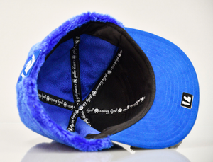 GULLY KLASSICS BLUE SUEDE WINTER CAP