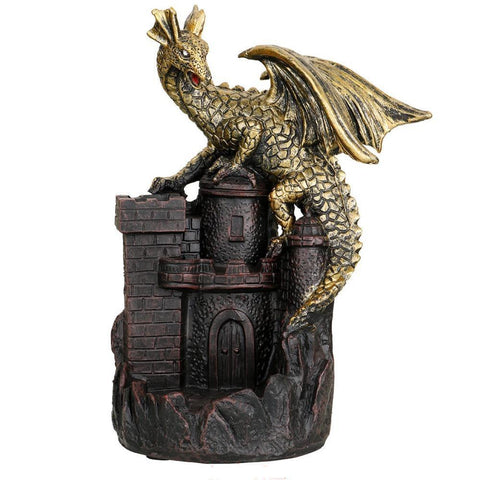Porte-encens dragon purificateur