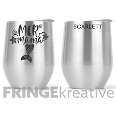 We'll Be Friends Until We're Old and Senile | Tall Skinny Tumbler | Stainless Steel