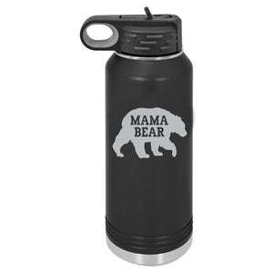 Mama Bear | Gift For Mom | Water Bottle | 32oz BPA Free Water Bottle