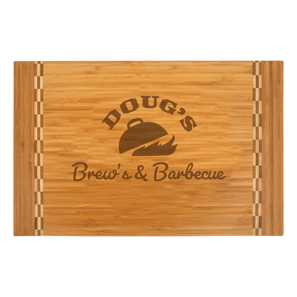 Personalized Bamboo Cutting Board | Custom Wood Cutting Board | $37.99