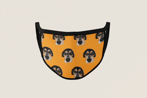 Pet Face Mask | Custom Pet Face Mask | #1 Pet Photo Gift | $13.95