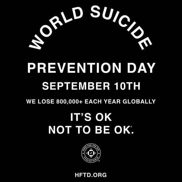 September is Suicide Prevention Month: <p> My Story & Survival