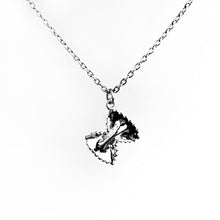 Load image into Gallery viewer, Pasta Bow Necklace - .925 Sterling Silver or 14k Gold Fill