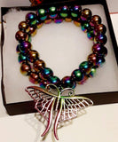 Elle Shanell Medium 7 Rainbow Butterfly