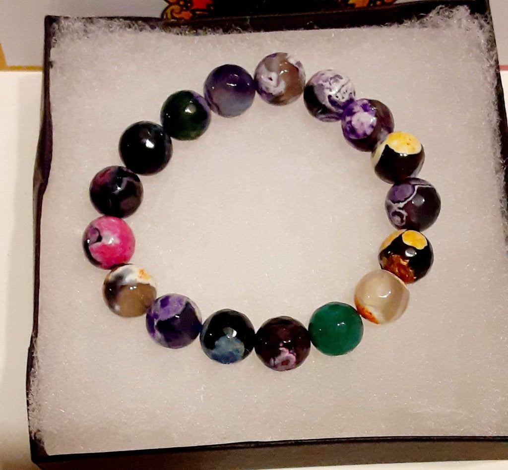 Elle Shanell Small 6.5 Colorful Agate