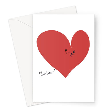Your Love and Me Valentine's  Card