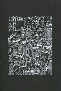 Crystal Palace Festival Pen Drawing