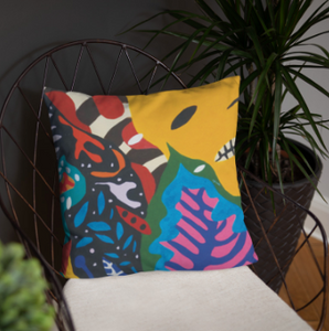 Colourful Palau Ant Single-sided Cushion