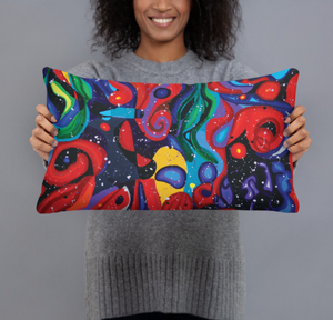 Starry Day Double-sided Cushion