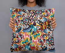 Load image into Gallery viewer, Summer Fruit Patterned White Double-sided Cushion