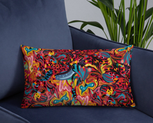 Load image into Gallery viewer, Summer Fruit Patterned Red Double-sided Cushion