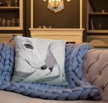 Load image into Gallery viewer, Lady, The Greyhound Dog Single-sided Cushion