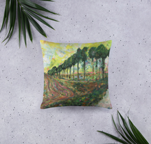 Load image into Gallery viewer, Veneto, Italy Landscape acrylic painting single-sided cushion