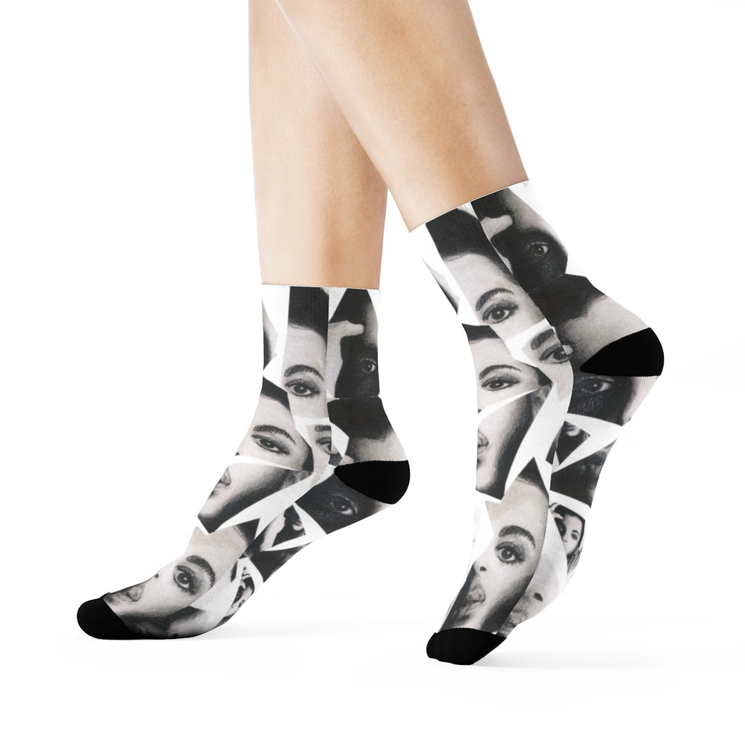 Prince Collage Socks