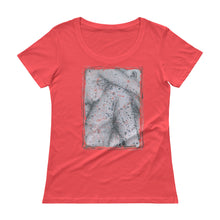 Load image into Gallery viewer, CROUCHING GIRL Ladies' Scoopneck T-Shirt