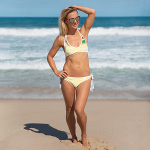 Reversible Beach illustration Bikini