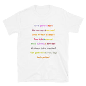 Food, Glorious Food Short-Sleeve Unisex T-Shirt