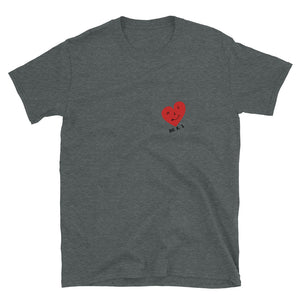 WE R 1 Heart Short-Sleeve Unisex T-Shirt