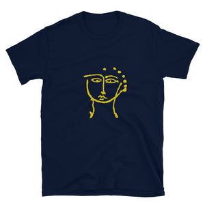 Woman line drawing series Short-Sleeve Unisex T-Shirt