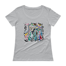 Load image into Gallery viewer, Flood of Love Ladies' Scoopneck T-Shirt