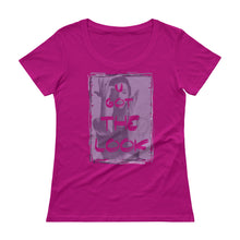 "Load image into Gallery viewer, PRINCE ""U Got The Look"" Ladies' Scoopneck T-Shirt"