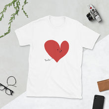 Load image into Gallery viewer, Your Love and Me Short-Sleeve Unisex T-Shirt