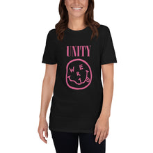 Load image into Gallery viewer, WE R 1 NIRVANA UNITY Pink Version Short-Sleeve Unisex T-Shirt