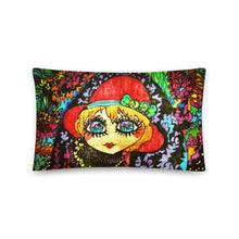 Load image into Gallery viewer, Mirror Girl Single-sided cushion