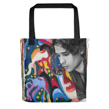 "Load image into Gallery viewer, Jeff Buckley ""Forget Her"" Tote bag"