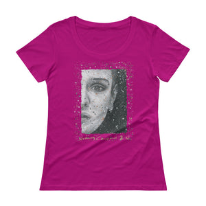 "SINEAD O'CONNOR  ""Nothing Compares 2 U"" Ladies' Scoopneck T-Shirt"