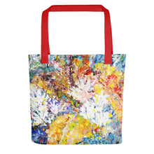 Load image into Gallery viewer, Blue Leaves Tote bag