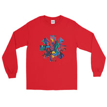 Load image into Gallery viewer, Red Hot Chili Pepper Star Abstract Red Long Sleeve Shirt