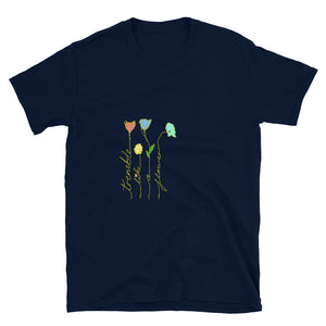 Tremble Like a Flower Gold version Short-Sleeve Unisex T-Shirt