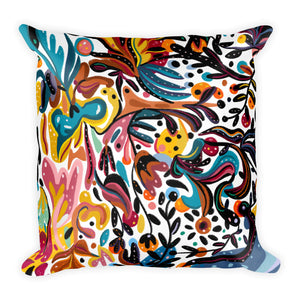 Summer Fruit White Double-sided Cushion