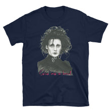 "Load image into Gallery viewer, EDWARD SCISSORHANDS ""GIVE ME A HAND"" Short-Sleeve Unisex T-Shirt"