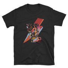 Load image into Gallery viewer, David Bowie Lightning illustration Short-Sleeve Unisex T-Shirt